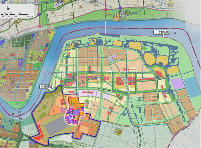 杭州市大江东新城 规划资料